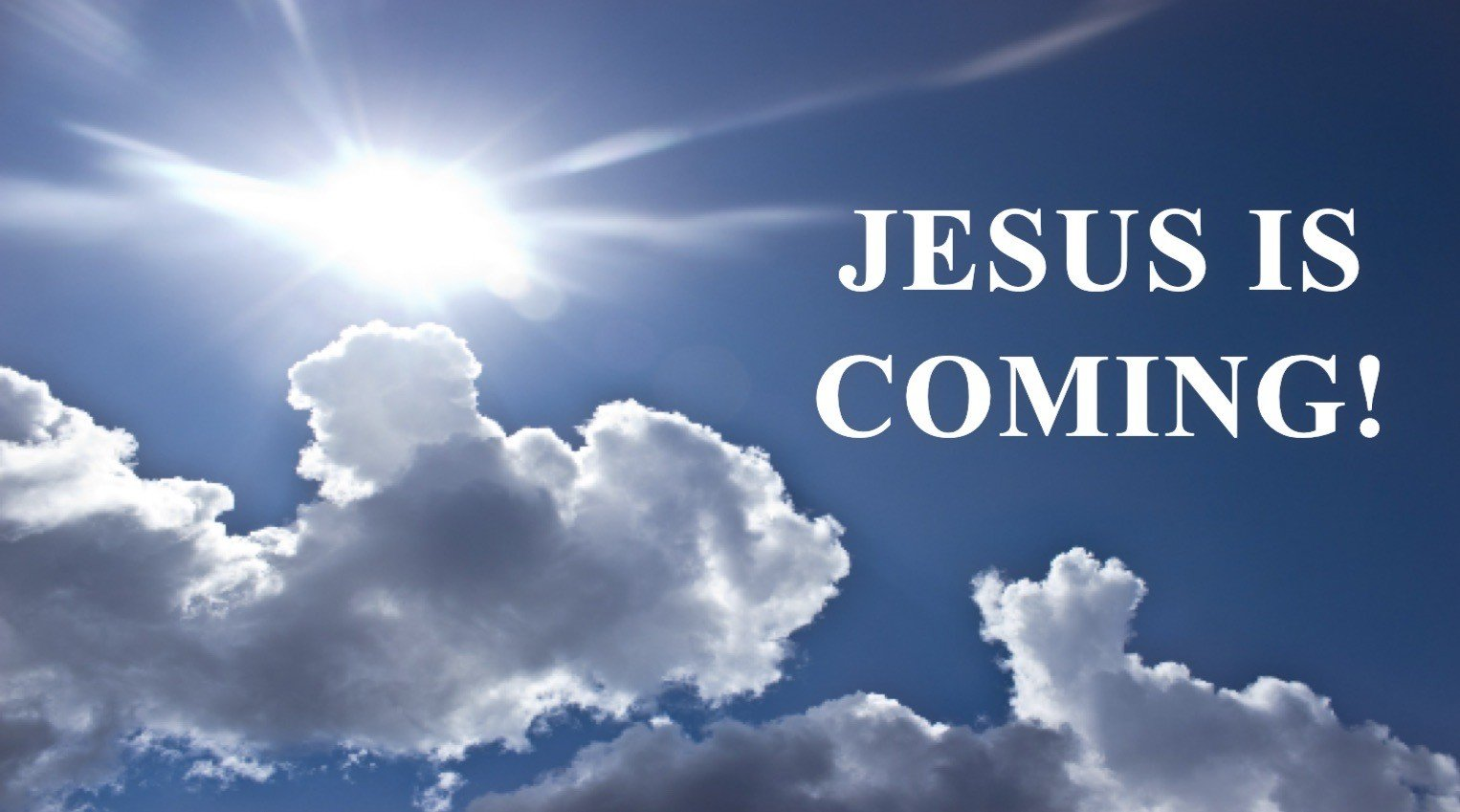 Jesus-is-coming